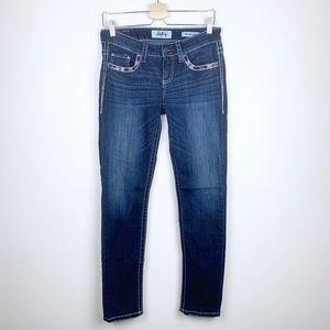 Daytrip Lynx Ankle Skinny Detailed Pocket Jeans